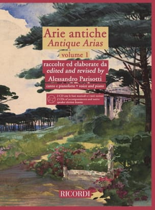 Alessandro Parisotti - Arie Antiche Volume 1 2 CD - Sheet Music - di-arezzo.co.uk