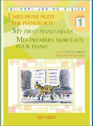Mes premiers morceaux pour piano. Volume 1 - Partition - di-arezzo.fr
