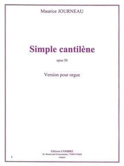 Simple Cantilène Op. 50 Maurice Journeau Partition laflutedepan