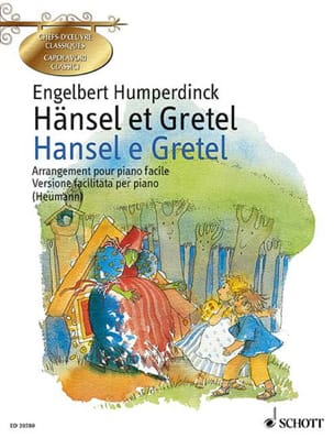 Engelbert Humperdinck - Hänsel et Gretel - Partition - di-arezzo.fr