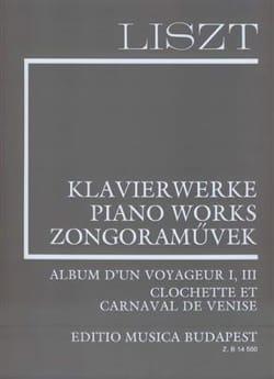 Album D'un Voyageur 1-3. Supplément 5 - Franz Liszt - laflutedepan.com