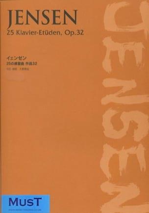 Adolf Jensen - 25 Klavier-Etuden, Op. 32 - Partition - di-arezzo.fr