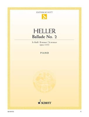 Stephen Heller - Ballad N ° 2 In Minor Si Op 115-2 - Sheet Music - di-arezzo.co.uk
