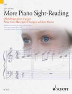 More Piano Sight-Reading John Kember Partition Piano - laflutedepan