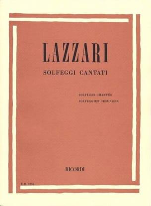 Sylvio Lazzari - Solfeggi Cantanti - Sheet Music - di-arezzo.com