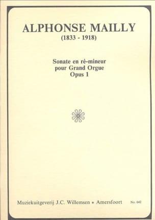 Sonate En Ré Mineur - Alphonse Mailly - Partition - laflutedepan.com