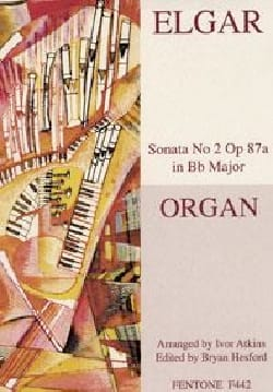 ELGAR - 2nd Sonata Op. 87a - Sheet Music - di-arezzo.com