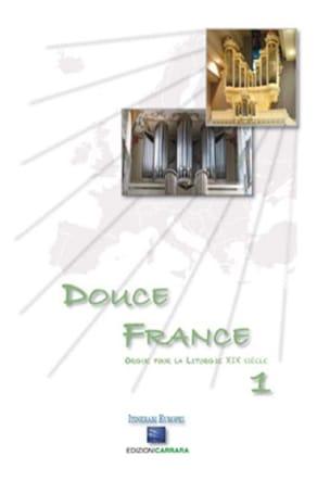 Douce France Volume 1 - Partition - Orgue - laflutedepan.com
