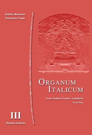 Organum Italicum 3 - Italie Du Nord - laflutedepan.com