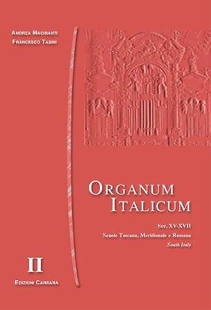 - Organum Italicum 2 - Southern Italy - Sheet Music - di-arezzo.co.uk