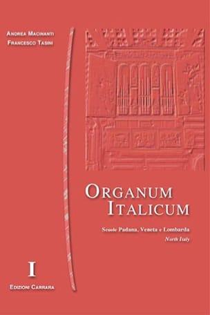 Organum Italicum 1 - Italie Du Nord - Partition - di-arezzo.fr