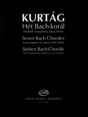 György Kurtag - Seven Bach Choral - Sheet Music - di-arezzo.co.uk