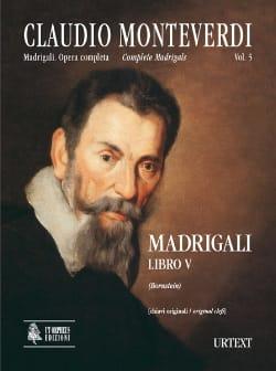 Claudio Monteverdi - Madrigali Libro 5 - Partition - di-arezzo.fr