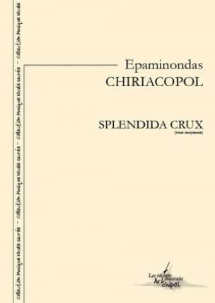 Epaminondas Chiriacopol - Splendida Crux - Partition - di-arezzo.fr