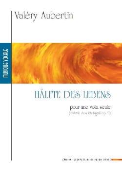 Hälfte des Lebens - Valéry Aubertin - Partition - laflutedepan.com