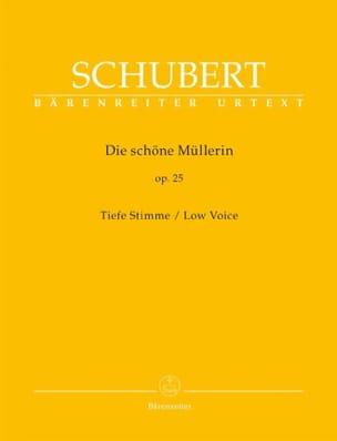 SCHUBERT - Die Schöne Müllerin Op. 25. Serious Voice - Sheet Music - di-arezzo.com