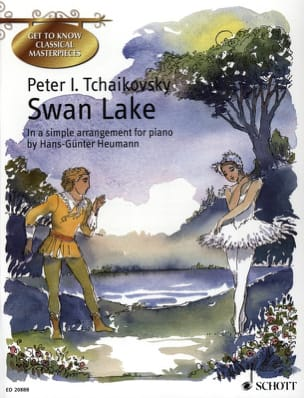 Swan Lake TCHAIKOVSKY Partition Piano - laflutedepan