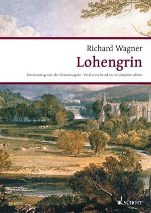 Lohengrin Wwv 75 WAGNER Partition Opéras - laflutedepan