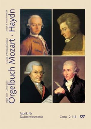 Orgelbuch et Haydn Mozart Partition Orgue - laflutedepan