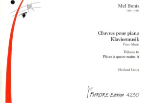 Mel Bonis - Oeuvres Pour Piano 4 mains A. Volume 6 - Partition - di-arezzo.fr