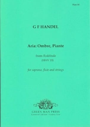 HAENDEL - Aria: Ombre, Piante - Partition - di-arezzo.fr