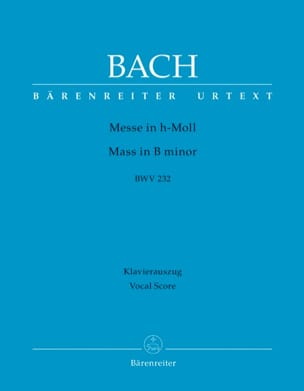 BACH - Mass in If Minor - Sheet Music - di-arezzo.co.uk