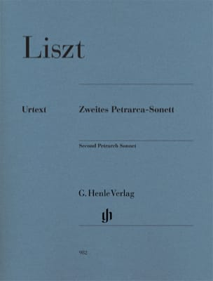 Franz Liszt - Second Sonnet of Petrarch - Sheet Music - di-arezzo.co.uk