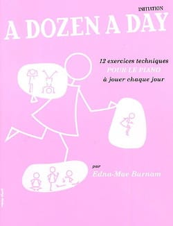 A Dozen A Day Initiation en Français Partition Piano - laflutedepan