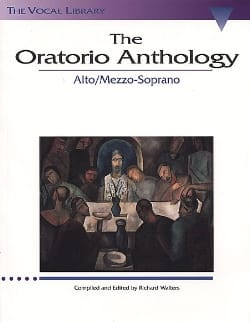 The Oratorio Anthology. Mezzo / Alto - Partition - di-arezzo.fr