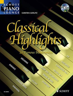 Classical Highlights - Carsten Gerlitz - Partition - laflutedepan.com