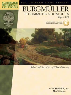18 Etudes op 109 Frédéric Burgmuller Partition Piano - laflutedepan