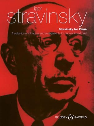 Igor Stravinski - Stravinsky For Piano - Partition - di-arezzo.fr