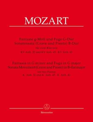Fantaisia And Fuga, Sonata Movement Grave And Presto - laflutedepan.com