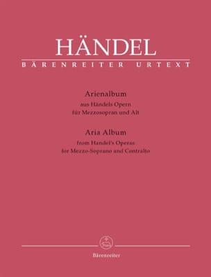 HAENDEL - Arienalbum. Mezzo Soprano and Contralto - Sheet Music - di-arezzo.com