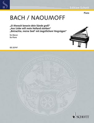 BACH / NAOUMOFF - Transcriptions For Piano - Sheet Music - di-arezzo.com