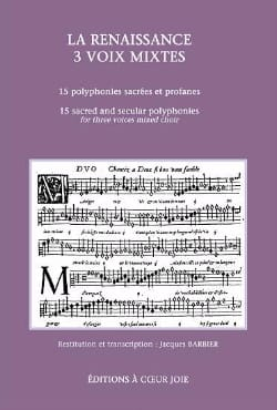 - The Renaissance 3 Mixed Voices - Sheet Music - di-arezzo.co.uk