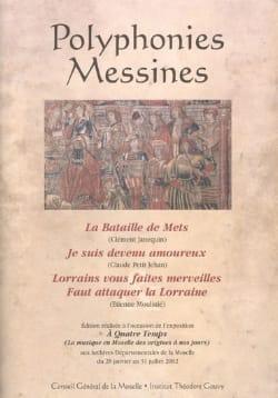 Polyphonies Messines - Partition - Chœur - laflutedepan.com