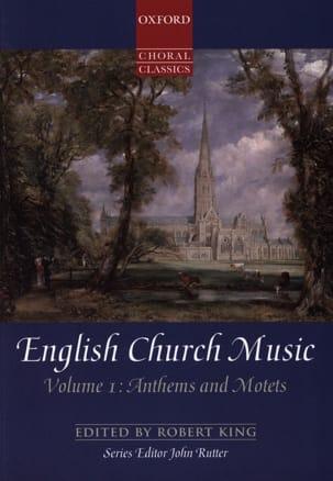 - English Church Music Volume 1 - Partition - di-arezzo.fr