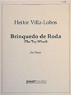 Brinquedo de Roda - Heitor Villa-Lobos - Partition - laflutedepan.com