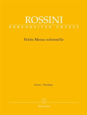 Gioachino Rossini - Small Solemn Mass - Sheet Music - di-arezzo.co.uk