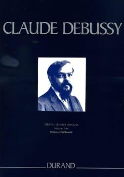 DEBUSSY - Pelléas et Mélisande. Série 6 Volume 2. - Partition - di-arezzo.fr
