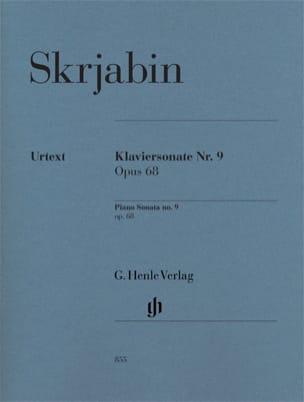 Alexander Scriabine - Sonate Pour Piano n° 9 Opus 68 - Partition - di-arezzo.fr
