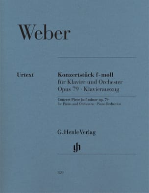 Carl Maria von Weber - Konzertstück In F Minor Op. 79 - Sheet Music - di-arezzo.co.uk