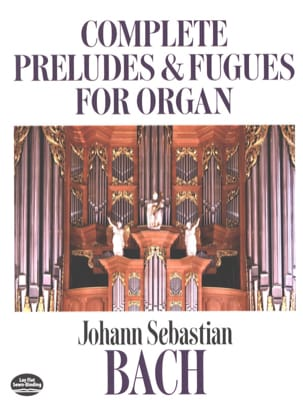 BACH - Complete Preludes And Fugues For Organ - Partition - di-arezzo.fr