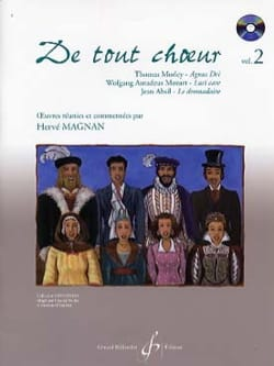 Hervé Magnan - From any choir Volume 2 - Sheet Music - di-arezzo.co.uk