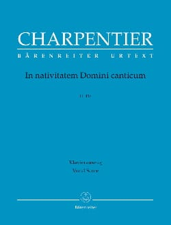 Marc-Antoine Charpentier - In Navitatem Domini Canticum H 416 - Sheet Music - di-arezzo.co.uk