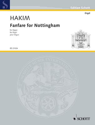 Naji Hakim - Fanfare For Nottingham - Partition - di-arezzo.fr