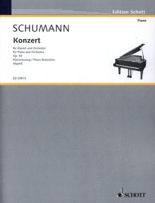 SCHUMANN - Concierto para piano en The Minor Opus 54 - Partitura - di-arezzo.es
