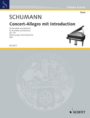 Robert Schumann - Concert-Allegro Mit Introduction Op. 134 - Partition - di-arezzo.fr