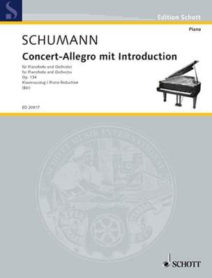 Concert-Allegro Mit Introduction Op. 134 - SCHUMANN - laflutedepan.com